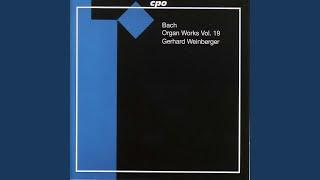 """Partita, BWV Anh. II 78, """"Wenn wir in hochsten Noten sein"""": III. Vers III"""