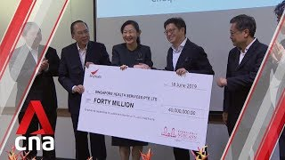 SingHealth receives S$40m donation for research and education