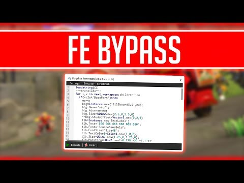 FE BYPASS! | OVERPOWERED SCRIPTS! | INSANE ROBLOX HACK/EXPLOIT!!!