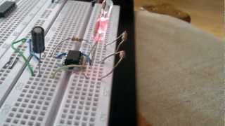 Flashing Led's - 555 timer circuit