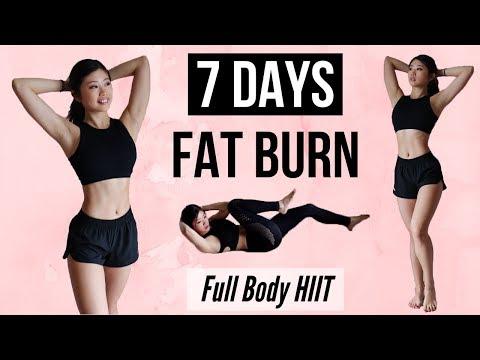 BURN FAT IN 7 DAYS! 10 min Full Body HIIT Workout Program (Results in 1 Week) ◆ Emi  ◆