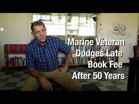 A veteran's book return 52 years later  | Marines