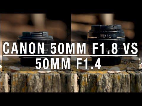 Canon 50mm f1.8 vs 50mm f1.4 - Is it worth...