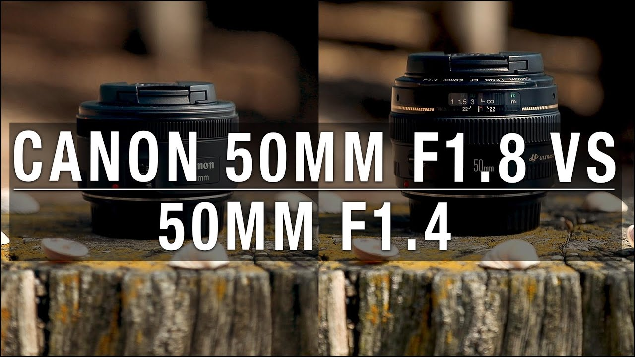 Canon 50mm f1 8 vs 50mm f1 4 - Is it worth the extra money?