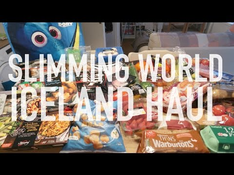 ICELAND HEALTHY EATING SLIMMING WORLD GROCERY HAUL feat CHANNEL MUM | Charlotte Taylor #AD
