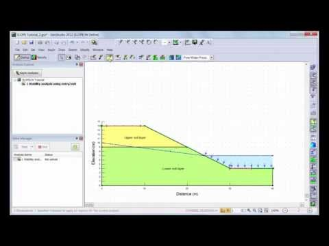 GeoStudio 2012: SLOPE/W Tutorial