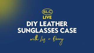 DIY Leather Sunglasses Case wi…
