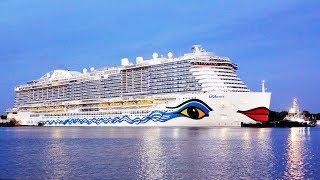 AIDAnova: Emsüberführung | Meyer Werft in Papenburg