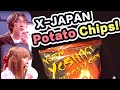 【Vlog】YOSHIKIポテチ食べてみた!|X-Japan potato chips TASTED!