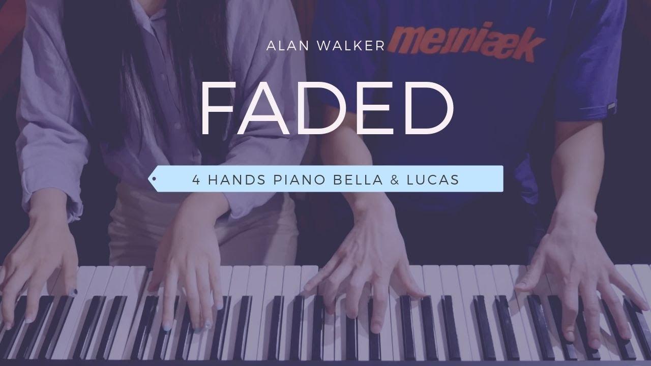 ????Alan Walker - Faded   4hands piano