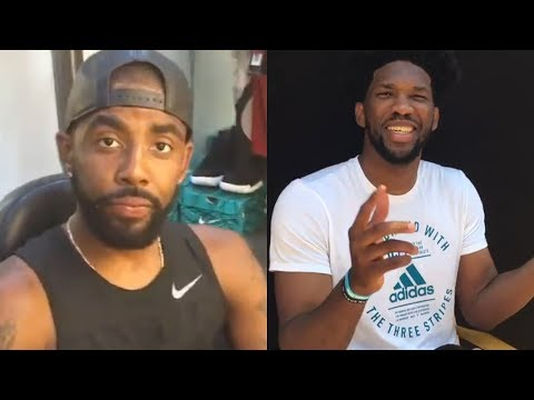 Kyrie Irving & Joel Embiid are PISSED Over NBA 2K18 Ratings