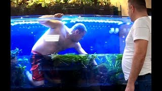 Огромный аквариум на 2000л для самой капризной рыбы в мире
