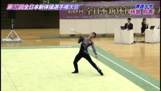 2015全日本新体操男子個人種目別決勝-クラブ