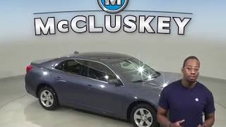 A13592GP Used 2014 Chevrolet Malibu LT FWD 4D Sedan Blue Test Drive, Review, For Sale -