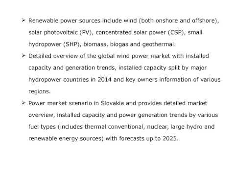 Wind Power in Slovakia Market Outlook 2025   Capac