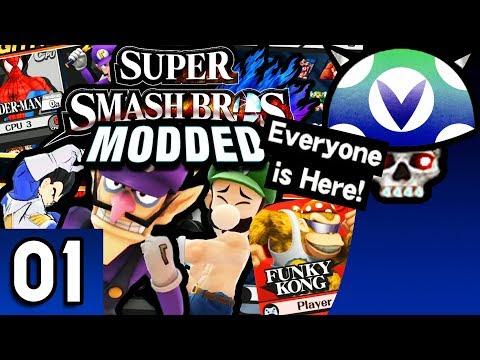[Vinesauce] Joel - Super Smash Bros WiiU Modded ( Part 1 )