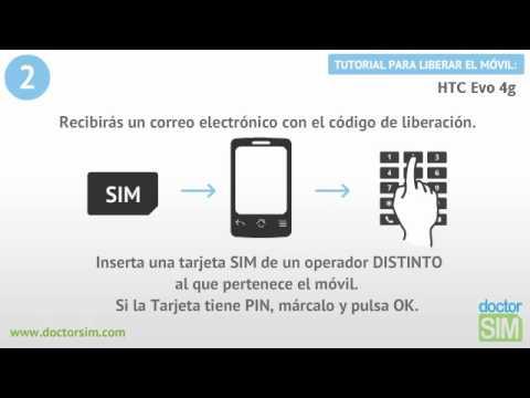 Liberar móvil HTC EVO 4G | Desbloquear celular HTC EVO 4G