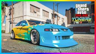 GTA Online: Los Santos Tuners ALL DLC Cars Customization Showcase!