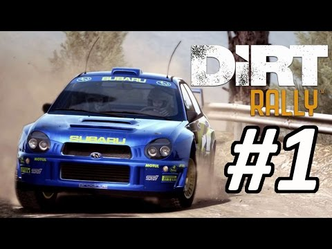 DiRT Rally Career Mode Part 1: I'M NOT A PAY DRIVER