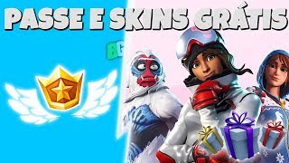 BATTLE PASS AND FREE SKINS AT FORTNITE!!!! GIFT SYSTEM RETURNED
