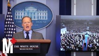 Sean Spicer's memorable moments as White House press secretary thumbnail