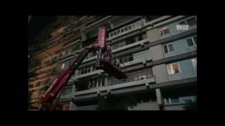 Использование автовышки ТехМск в съемках сериала Ольга на ТНТ