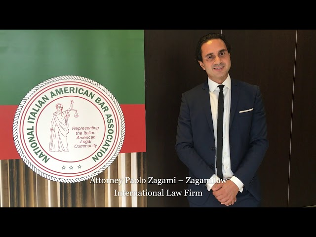 Interview Attorney Zagami for the National Italian American Bar Association