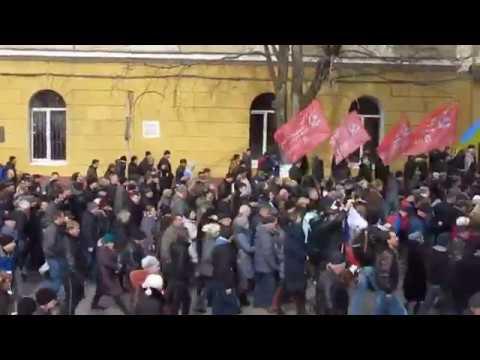 В Одессе патриоты сорвали праздник любителям совка | Doovi