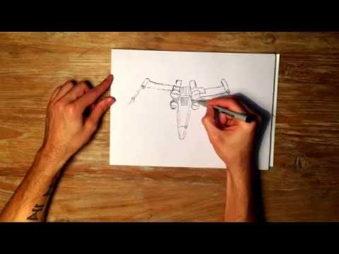 how-to-draw-an-x-wing