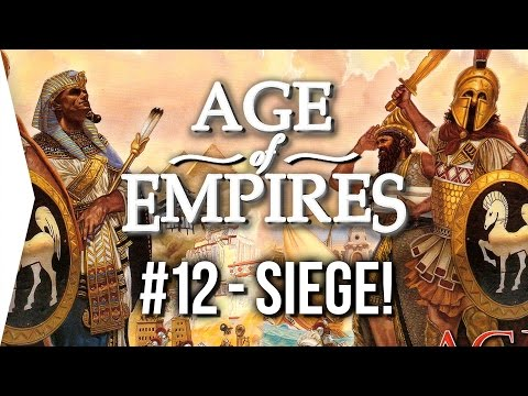 Age of Empires 1 ► #12 Egypt - Siege in Canaan [HD Gameplay] - End