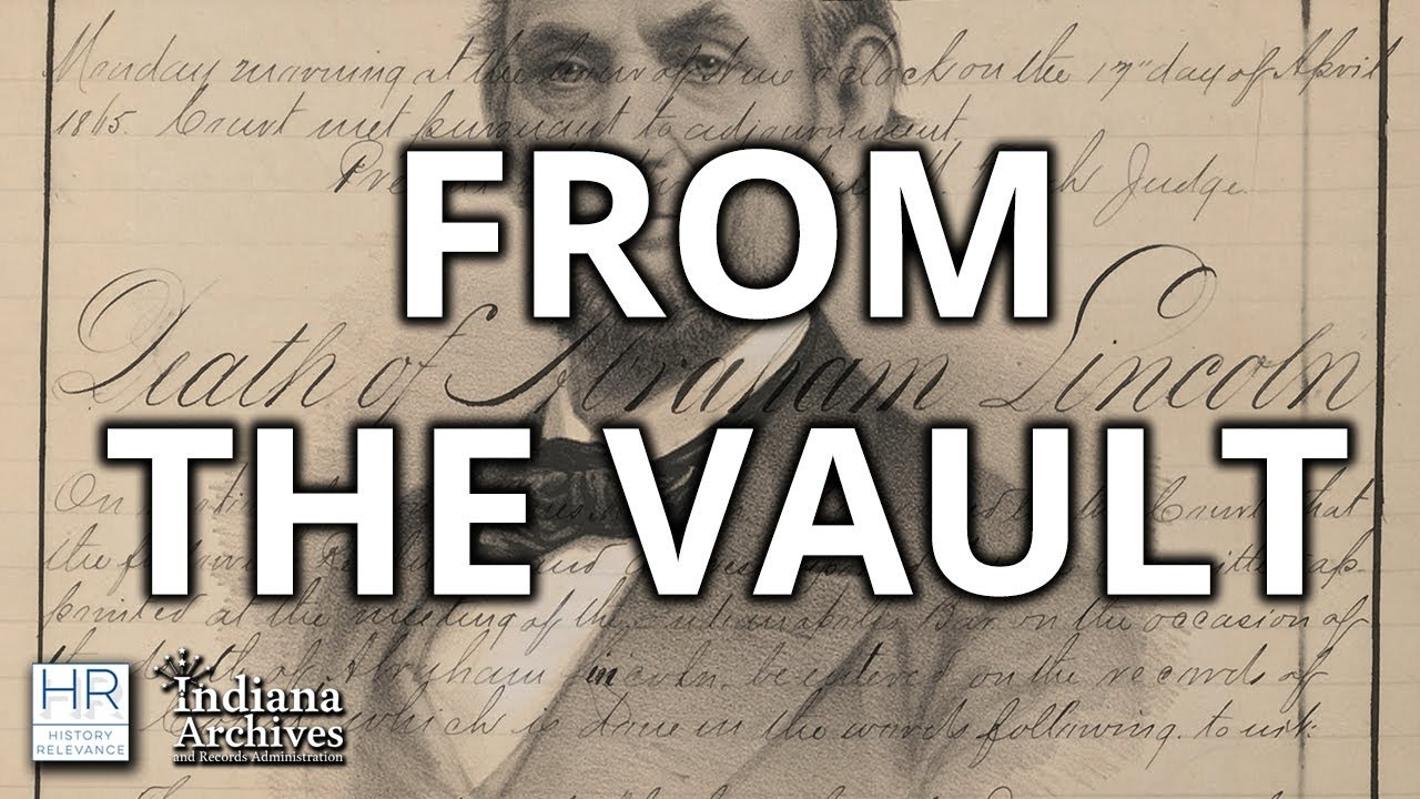 From the Vault | Marion County Circuit Court Eulogy For Abraham Lincoln