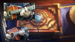 HEARTHSTONE Main Theme Guitar COVER