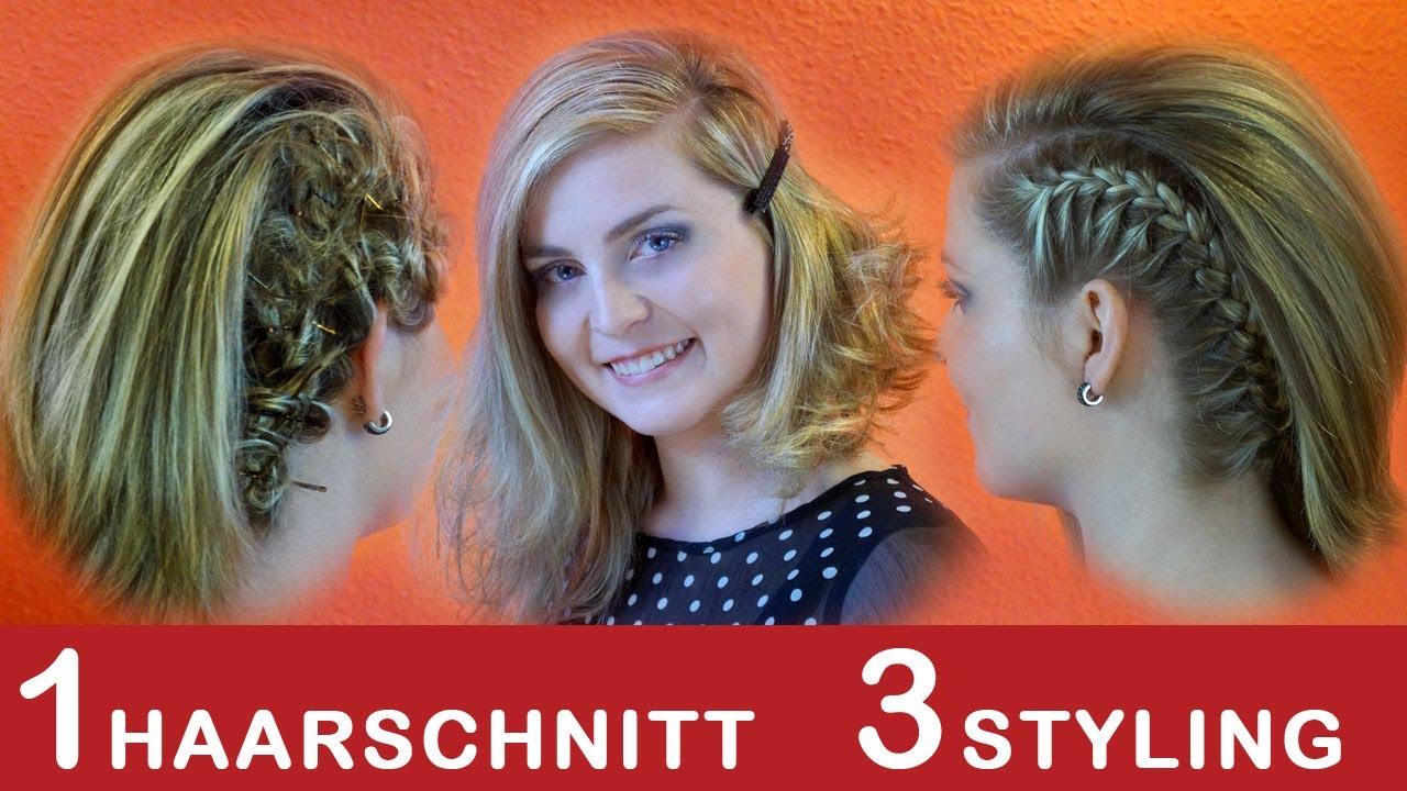 3 Stylings Tipps Für Asymmetrischer Haarschnitt Bob Alltag Schule