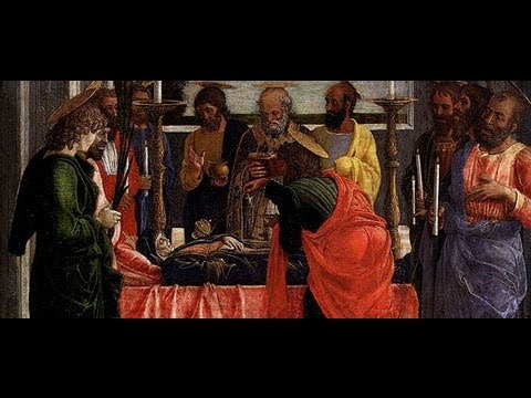 death of the virgin mary by andrea mantegna youtube