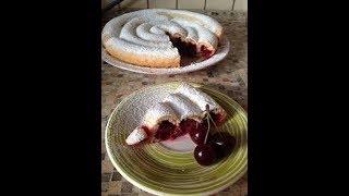 Готовим Пирог улитка с вишней. Вкусный рецепт пирога. Приготовь Сам пирог - очень просто и вкусно