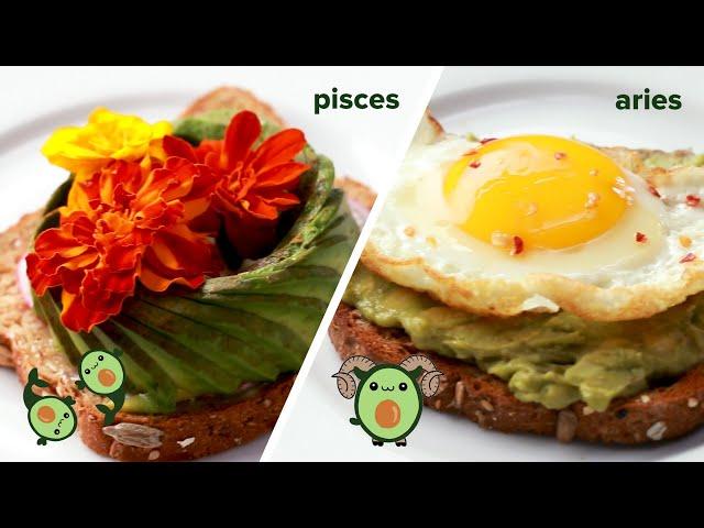 Astrology Avocado Toast • Tasty
