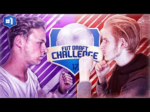 FUT DRAFT CHALLENGE FIFA 17 EDITIE VS LUCKYGRAAFNL! #1 CAM