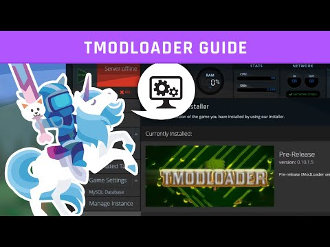 tModLoader Server Guide | Terraria | Knowledgebase Article - Nodecraft