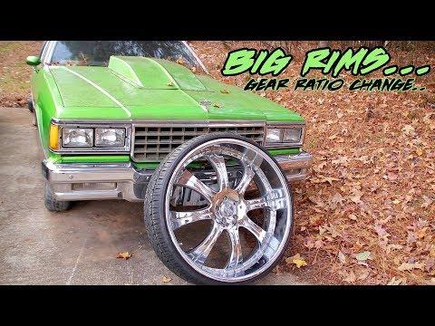 HOW BIG RIMS