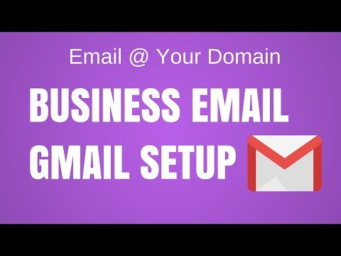 How to create a business email address on gmail