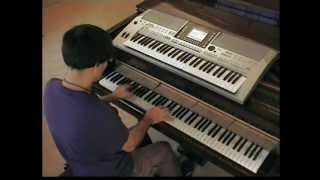 Flo Rida ft Kesha - Spin my Head Right Round - piano & keyboard synth cover by LIVE DJ FLO