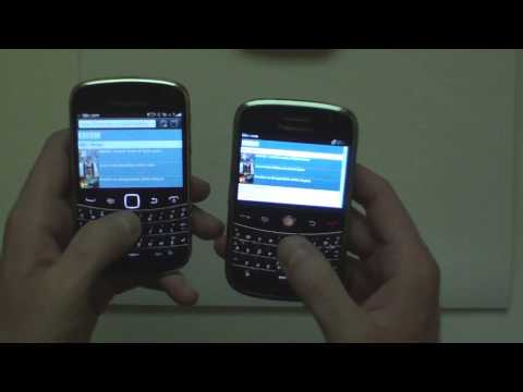 Blackberry bold 9900 vs bold 9000, browser, size,display, speed etc.