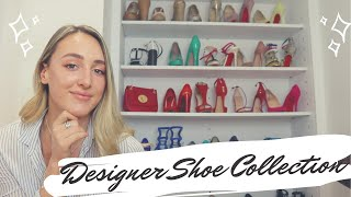 My 50+ DESIGNER SHOE COLLECTION Pt 2 | Gucci, Louis Vuitton, Louboutin | All Things Yazz |