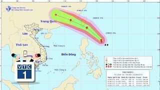 Bão Bailu áp sát biển Đông, miền Trung mưa lớn