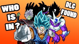 All 8 Characters REVEALED | Dragonball FighterZ DLC