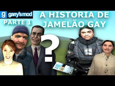 A HISTORIA DE UM JAMELÃO GAY (PARTE 1) GARRY'S MOD ANIMAÇÃO (ANIMATION) 2019 ZUEIRA