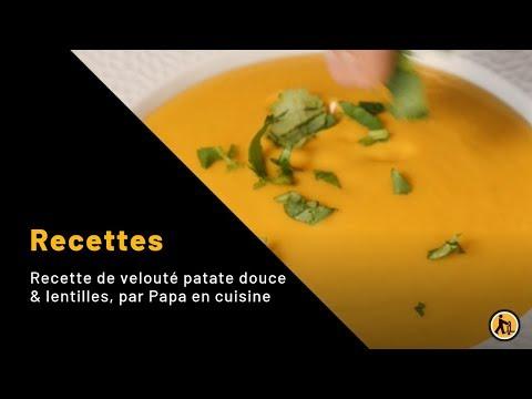 recette-de-velouté-patate-douce-&-lentilles,-par-papa-en-cuisine