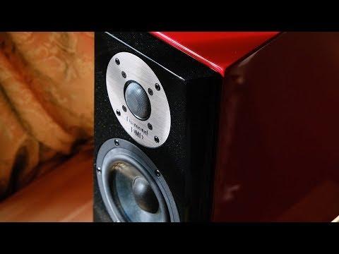 Review!  The Usher Audio SD500  |  Bookshelf Loudspeakers
