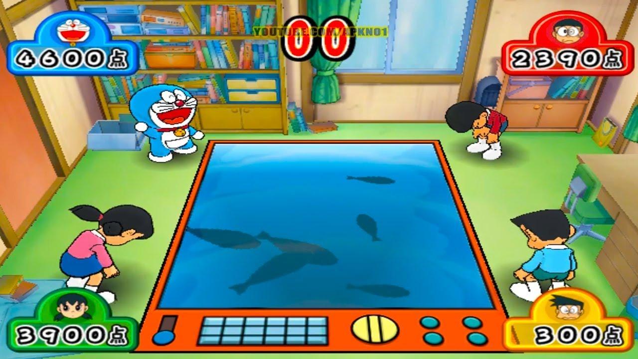 Doraemon Wii Gameplay Ep 3 – Fishing Game