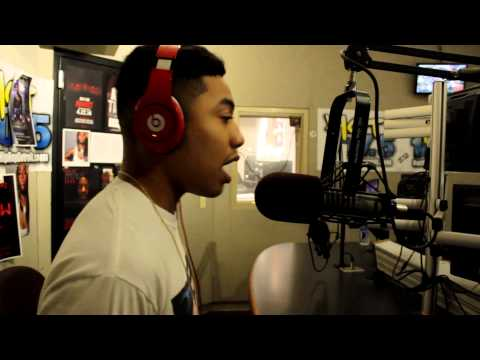 B-Free Freestyles Live On HOT 107.5!